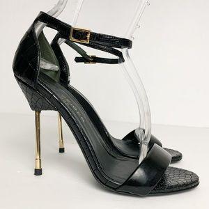 Kurt Geiger Belgravia Croc Embossed Stiletto Heels